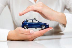 carro en manos de aseguradora para reclamación