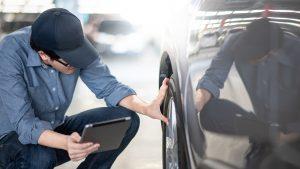 reclamación de seguro tras accidente