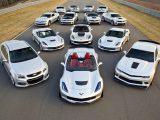 coches exóticos blancos