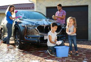 limpiar coche en casa