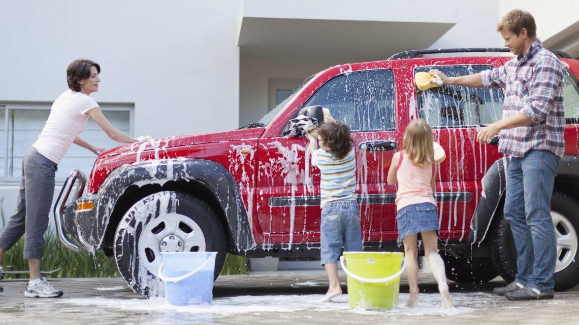 Limpiar el interior de un coche