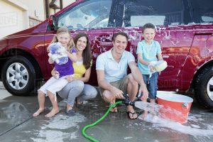 métodos para limpiar coche